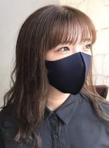 レイヤーミディ(髪型セミロング)