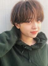美シルエット☆マッシュショート(髪型ショートヘア)