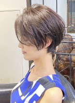 前下がりショート(髪型ショートヘア)