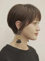 手入れ簡単☆美人ショート(髪型ショートヘア)
