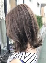 【大人のくびれミディアム】(髪型ミディアム)