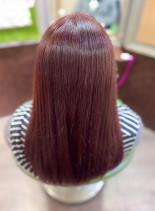 チェリーブラウン(髪型セミロング)