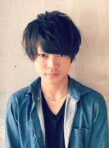 ルーズマッシュ(髪型メンズ)