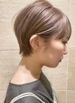 お手入れ簡単*耳かけコンパクトショート (髪型ショートヘア)