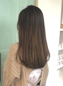 艶髪セミロング