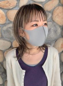 ウルフボブ ☆ シアベージュ(ビューティーナビ)