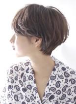 立体感のある☆大人ショートヘア(髪型ショートヘア)