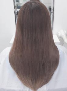 髪質改善・超音波縮毛矯正[ブリーチ毛]