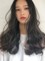 直毛の方におすすめ パーマロング(髪型ロング)