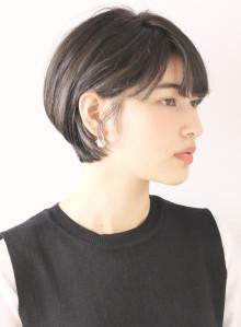 上品な大人女性ショート/30代40代
