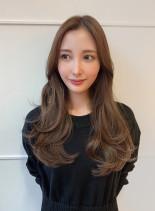 20代30代 大人美人ワンカールロング(髪型ロング)