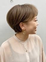 大人可愛い耳かけショート◇(髪型ショートヘア)