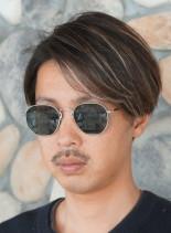 ジョンコナー風マッシュショート(髪型メンズ)