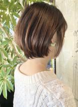 20代30代40代/大人小顔ショートボブ(髪型ショートヘア)