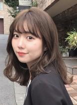 【フォーマル・大人ミディアム】(髪型ミディアム)