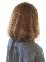 30代40代50代ひし形ワンカールミディ(髪型ミディアム)