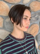 前下がり ☆ ショートボブ(髪型ショートヘア)