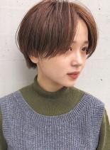 丸顔さんオススメ☆ハンサムショート(髪型ショートヘア)