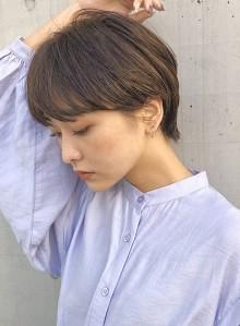 骨格美人◇マッシュショート