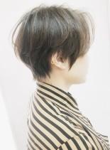 人気ランキング大人のハンサムショート(髪型ショートヘア)
