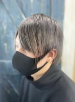 ディープアッシュ(髪型メンズ)