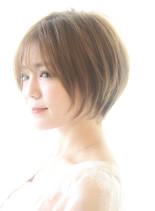 20代30代40代 可愛い束感ショート(髪型ショートヘア)