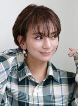 30代40代お手入れ簡単髪型(髪型ショートヘア)