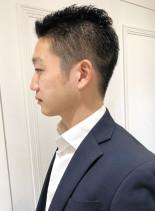 大人男性好印象☆ビジネスベリショ(髪型メンズ)