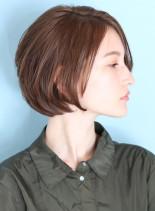 40代50代大人のリッチなショートボブ☆(髪型ショートヘア)