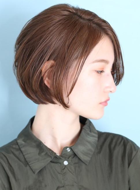 40代50代大人のリッチなショートボブ☆(ビューティーナビ)