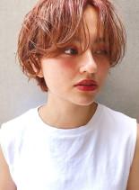 楽スタイリング☆ハンサムパーマ(髪型ショートヘア)