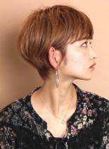 柔らかい☆大人のすっきりショート(髪型ショートヘア)