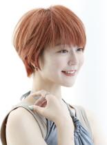 耳かけマッシュショート(髪型ショートヘア)