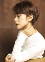 ☆美シルエットハンサムショート☆(髪型ショートヘア)