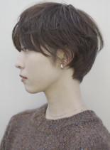 手入れ簡単☆大人美人ショート(髪型ショートヘア)