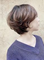 辺見えみり風 パーマスタイル(髪型ショートヘア)