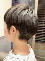 マッシュショート(髪型ベリーショート)