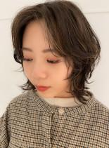 ボブウルフスタイル(髪型ボブ)