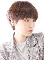 大人モードなマニッシュショート(髪型ショートヘア)