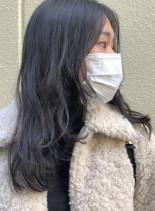 黒髪の艶☆ロングレイヤー(髪型ロング)