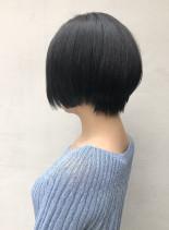 前下がりグラデーションボブ(髪型ショートヘア)