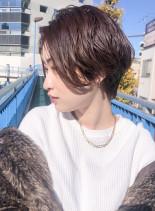 お手入れ簡単☆大人ハンサムショート(髪型ショートヘア)
