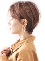 20代30代/大人ハンサムショート(髪型ショートヘア)