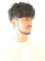 30代40代50代大人のカールスタイル(髪型メンズ)