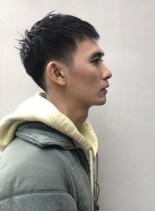 メンズ刈り上げベリーショート(髪型メンズ)