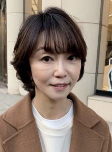 40代50代60代小顔ショート☆(ビューティーナビ)