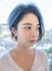抜け感◎毛流れの美しいショートヘア(ビューティーナビ)