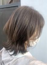 【長さは変えず・くびれミディアム】(髪型ミディアム)