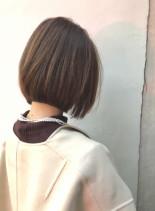 30代40代大人可愛いショートボブ(髪型ボブ)