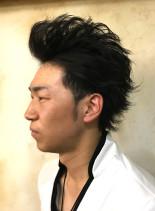 リーゼントセット(髪型メンズ)
